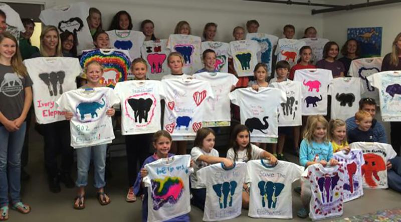 kidsElephantTshirts
